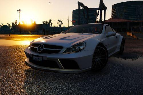 Mercedes-Benz SL65 AMG Black Series (R230) 2009 [Add-On |  Animated | Template | Auto-Spoiler]