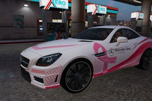 Mercedes-Benz SLK 55 AMG (R127) - Wedding Car, Pink Girl [Paintjob]