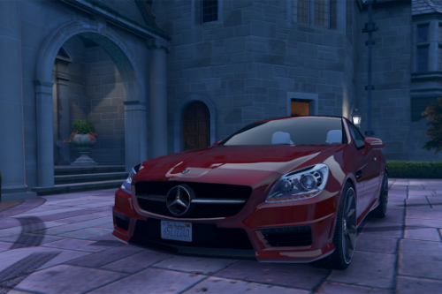 Mercedes-Benz SLK55 AMG [Add-On / Replace]