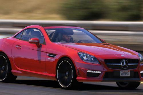Mercedes-Benz SLK55 (R172) [Add-On | Tuning | Template]