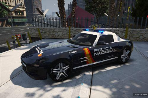 Mercedes-Benz SLS Policia Nacional/CNP of Spain/España[FiveM-ADD-ON]