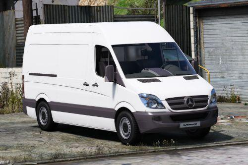 Mercedes Benz Sprinter 2011 [unlocked]