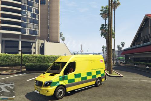 Mercedes-Benz Sprinter Ambulance UZ Brussel/Bruxelles [ELS]