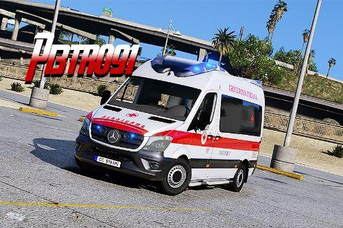 Mercedes-Benz Sprinter - Croce Rossa Italiana