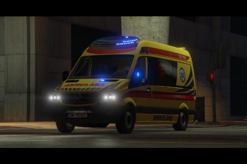 Mercedes-Benz Sprinter Polish Ambulance