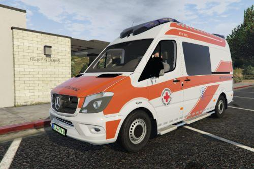 Mercedes-Benz Sprinter RTW - Deutsches Rotes Kreuz [Paintjob]