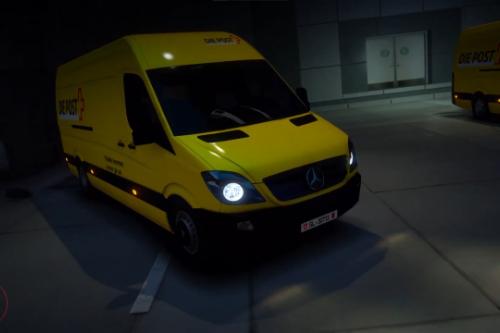 Mercedes-Benz Sprinter - Schweizer Post [FiveM-Replace]