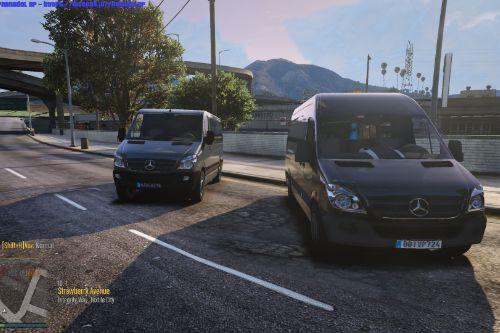 🇩🇪 Mercedes Benz Sprinter W906 and VS30 pack [Add-On / Replace | Template ! Unlocked]