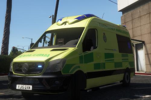 Mercedes Benz Sprinter - West Yorkshire Ambulance Paintjob