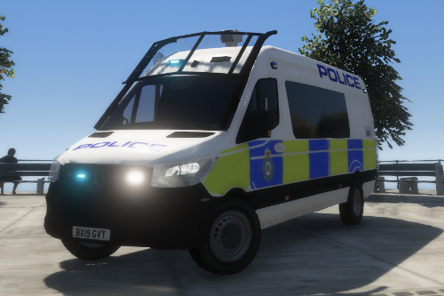 mercedes benz sprinter west yorkshire police 2019 skin