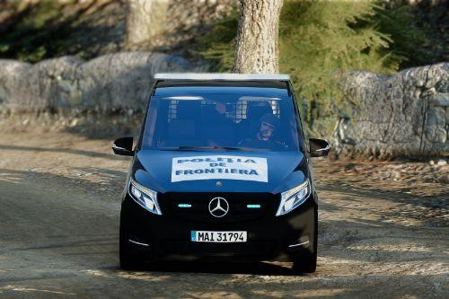 Mercedes Benz Vito - Politia de Frontiera