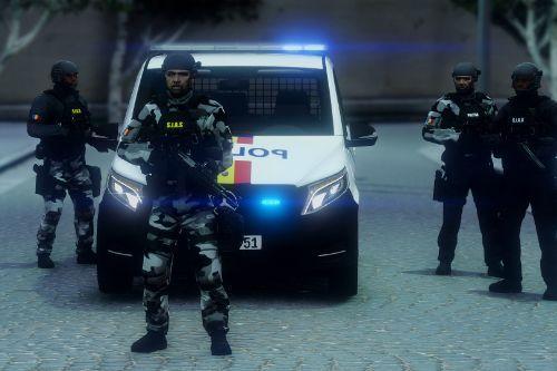 Mercedes Benz Vito Politia Romana