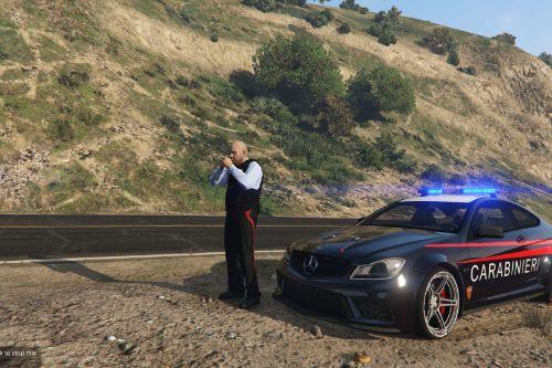 Mercedes-Benz C63 Carabinieri (Italian Police)