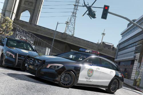 2016 Mercedes-AMG CLA 45 Shooting Brake POLICE LSPD