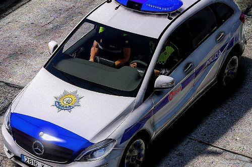 Mercedes Clase B Policia Municipal Bilbao [Replace | ELS | Template]