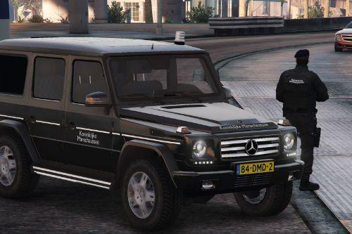 Mercedes G Klasse Dutch Military Police