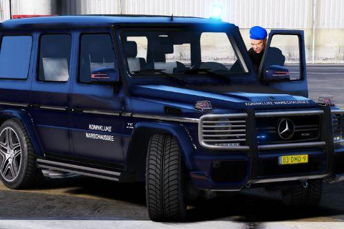 Mercedes G65 Koninklijke Marechaussee (Dutch Royal Military Police)