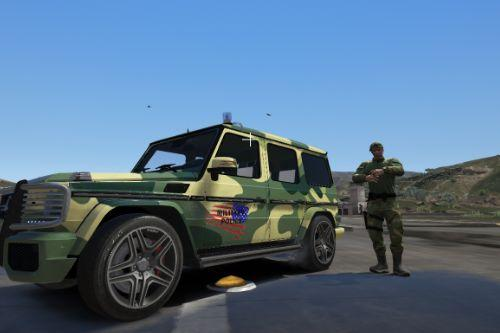 Mercedes G65 - Military Police
