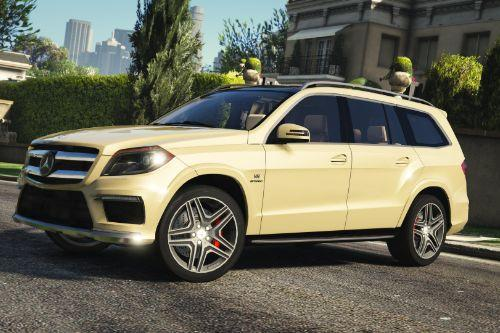 Mercedes-Benz GL63 AMG [Add-On / Replace]