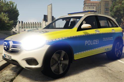 Mercedes GLC Polizei Hamburg