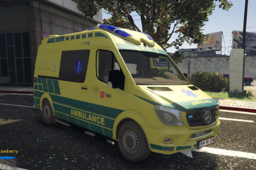 Mercedes Otaris - Danish Ambulance 2018