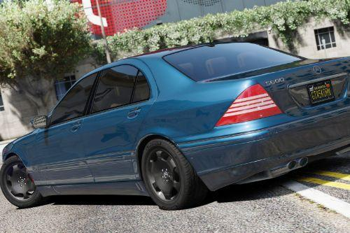 Mercedes-Benz S600 W220 [Add-On / Replace]