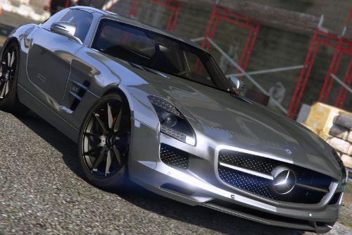 Mercedes-Benz SLS AMG | AUTOVISTA [Add-On / Replace | Template]