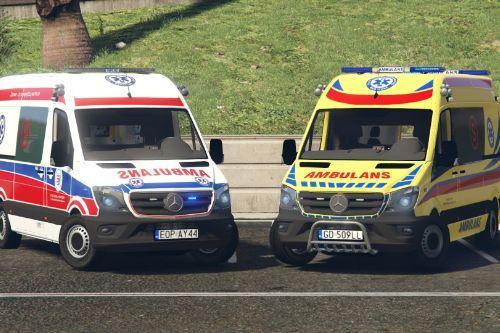 Mercedes Sprinter 2017 Polish Ambulance