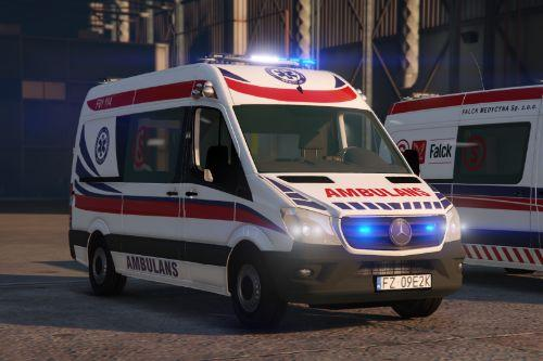 Mercedes Sprinter 2017 Polish Ambulance
