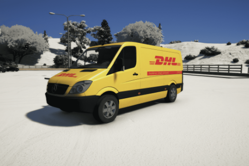 Mercedes Sprinter 211 || DHL paintjob