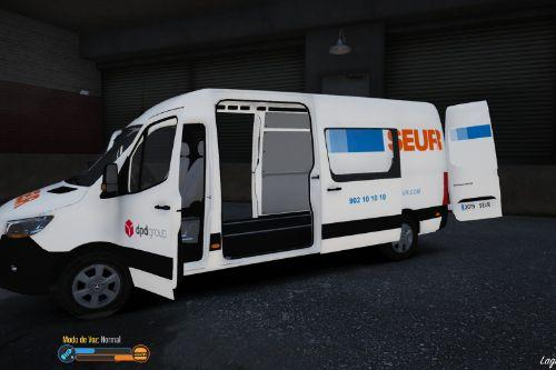 Mercedes Sprinter Long 2019 Seur [Fivem-Replace]