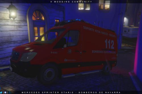 Mercedes Sprinter Otaris - Bomberos de Navarra [ELS]