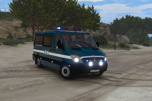 Mercedes Sprinter Polish Military Police [Els] ZW