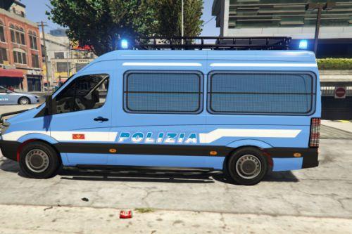 Mercedes Sprinter Reparto Mobile - Polizia [ELS]