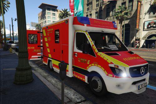 Mercedes Sprinter Rettungsdienst BF  Wuppertal