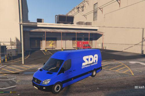 Mercedes Sprinter SDA Express Courier