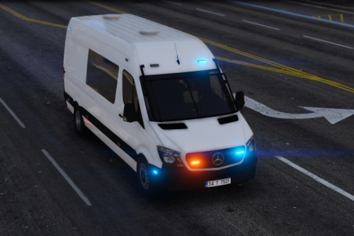 Mercedes Sprinter Sivil / Ekip Polisi Turkish | ELS