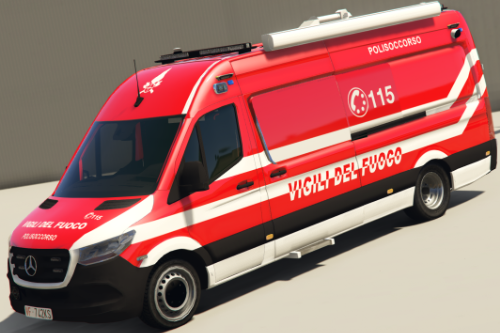 Mercedes Sprinter Vigili Del Fuoco - Polisoccorso