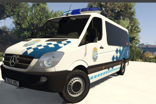 Mercedes Sprinter W906 211 CDI Policía Local Galicia.