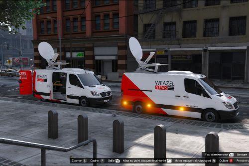 Mercedes Sprinter Weazel News