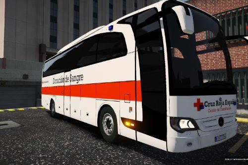 Mercedes Travego Centro de Transfusión Cruz Roja Española of Spain/España[FiveM-Replace-ELS]