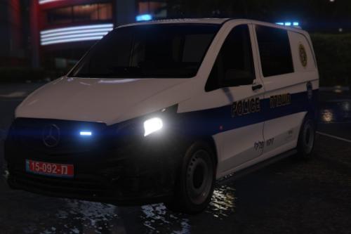 Mercedes Vito 2016 Israel police