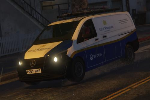 Mercedes Vito - City of Westminster - Clean Street Van (SKIN)