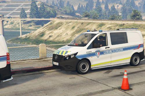 Mercedes Vito Police Municipale