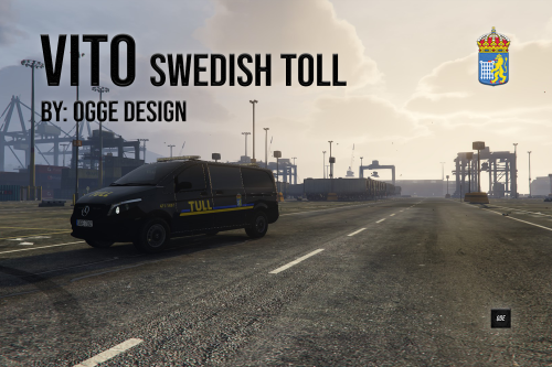 "Mercedes Vito ""Swedish Toll"""