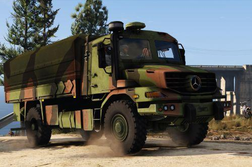 Mercedes Zetros Bundeswehr [Add-On]
