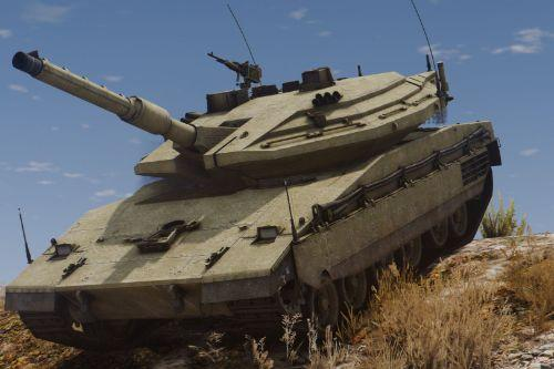 Merkava Mk.IV Israeli MBT [Custom weapons | Add-On]