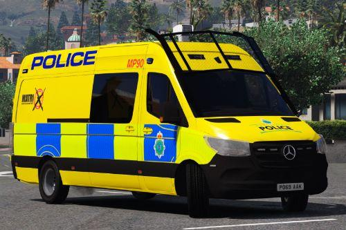 Merseyside Police 2019 Mercedes-Benz Sprinter (2019)