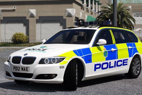 Merseyside Police BMW 330D E91 (Traffic - 2012)