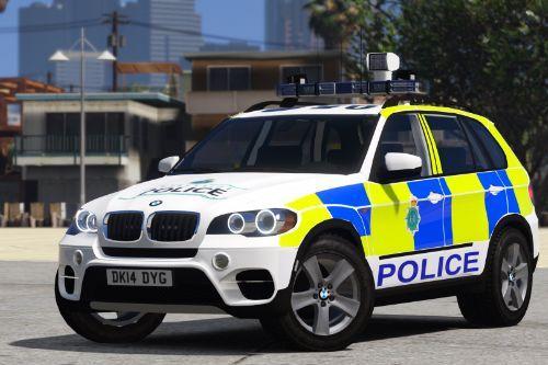 Merseyside Police BMW X5 E70 (Traffic - 2013)